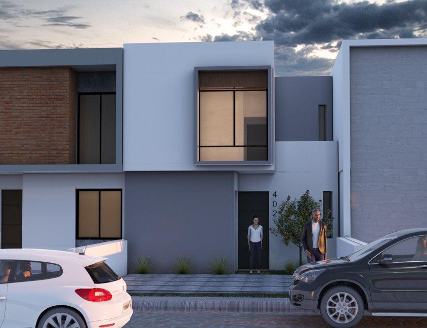 Casas Lomas de la Villa – Modelo LMS – 402